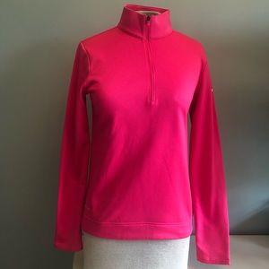 Nike Golf Dri-Fit Pullover XS Neon Pink